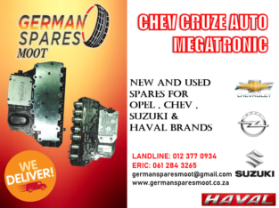 CHEV CRUZE – NEW AUTO MEGATRONIC FOR SALE