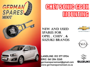 CHEV SONIC NEW GEARBOX MOUNTING FOR SALE