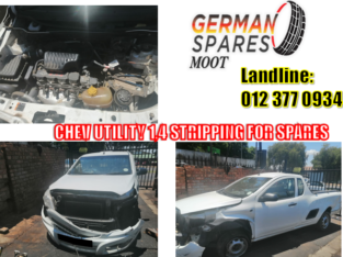 CHEV UTILITY/ 1.4 / STRIPPING FOR SPARES