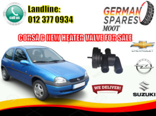 OPEL CORSA / B / NEW/ HEATER VALVE/ FOR SALE