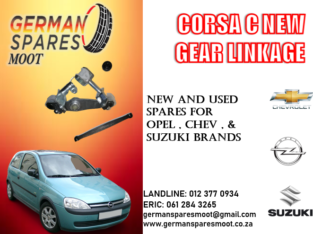 CORSA C NEW GEAR LINKAGE FOR SALE