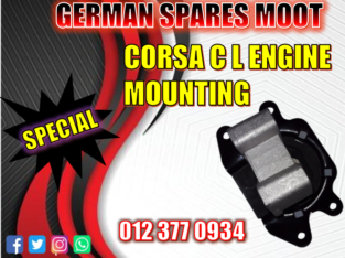 Corsa C L Engine mounting used and new spare parts
