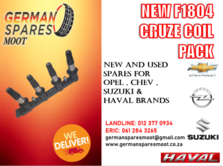 CHEV CRUZE (F1804) NEW COIL PACK FOR SALE