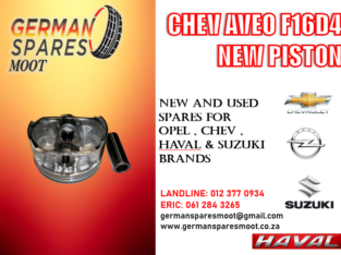 CHEV AVEO F16D4 NEW PISTON FOR SALE