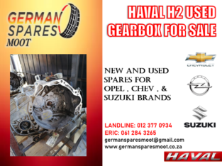HAVAL 2 – USED GEARBOX FOR SALE