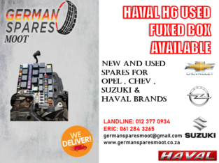 HAVAL H6 USED FUSE BOX AVAILABLE