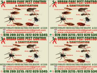 Pest control, fumigation and sanitisation services