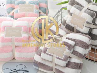2in1 stripe towel
