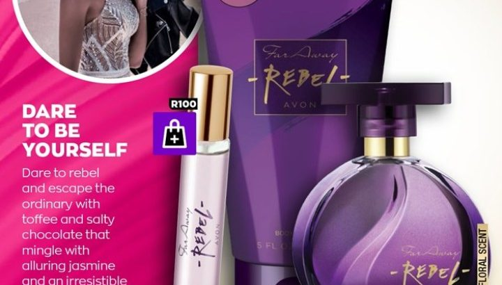 AVON JUSTINE beauty products