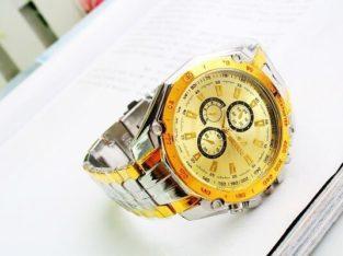 Luxury Brand Orlando Watches Men Gold Watches Stainless Stee