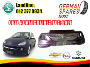 OPEL ADAM/ USED / BUMPER/ FOR SALE