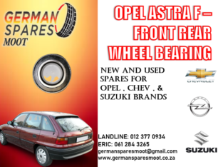 OPEL ASTRA F FRONT REAR WHEEL BEARING FOR SALE