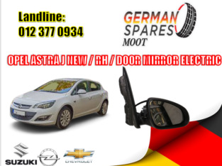 OPEL ASTRA J/ RIGHT SIDE / NEW / ELECTRICAL / DOOR MIRROR