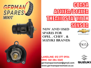 OPEL CORSA A14XER/ B14XER NEW THERMOSTAT WITH SENSOR FOR SALE