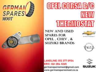 OPEL CORSA B/C NEW THERMOSTAT FOR SALE