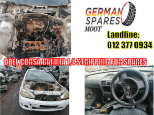 OPEL CORSA GAMMA/ 1.4 / STRIPPING FOR SPARES