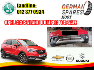 OPEL CROSSLAND X/ BUMPER/ FOR SALE