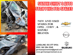 OPEL CROSSLAND STRIPPING FOR USED SPARES