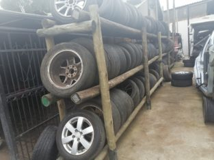VARIETY OF SECOND HAND TYRES AVAILABLE (CHEV,SUZUKI, & OPEL)