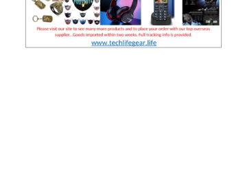 Tech Gear for sale