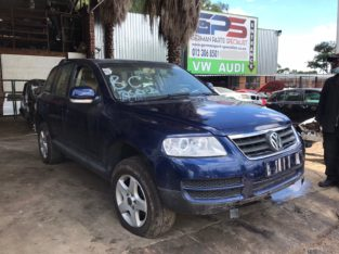 Volkswagen Touareg R5 2.5 TDI Auto Stripping for Used Spares