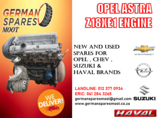 OPEL ASTRA (Z18XE1) ENGINE FOR SALE