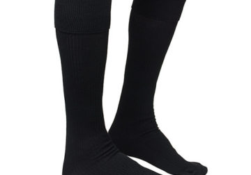 Black long boys socks