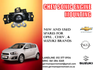 CHEV SONIC NEW ENGINE MOUNTING FOR SALE