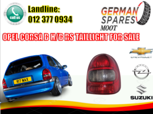 OPEL CORSA B/ HATCHBACK/ R/S FOR SALE