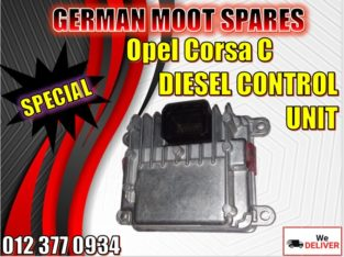 Opel Corsa diesel control unit and new and used spares/parts for