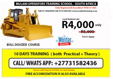 Excavator, Grader ,crane training 0731582436 in Pretoria, Soweto