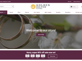 Your Own Online Store in 24HOURS!! GoldenSilverStore | 200+ Produ