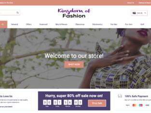 Your own Store in 24 Hours!!! KingdomOfFashion | 1000+ Products
