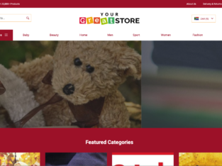 Your Own Online Store in 24HOURS!YourGreatStore| 20,000+ Products