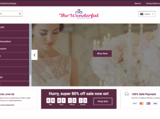 Your Own Store in 24HOURS!! TheWonderfulWedding | 1250+ Products