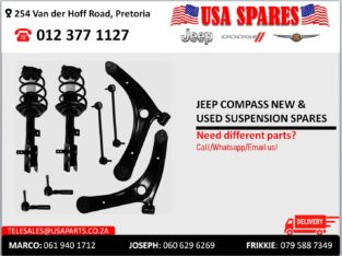 JEEP COMPASS NEW & USED SUSPENSION SPARES FOR SALE