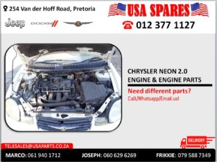 CHRYSLER NEON 2.0 USED ENGINE & ENGINE PARTS FOR SALE