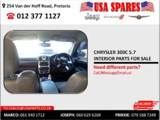 CHRYSLER 300C 5.7 HEMI USED INTERIOR PARTS FOR SALE