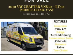 2010 VW Crafter VN830-LT50