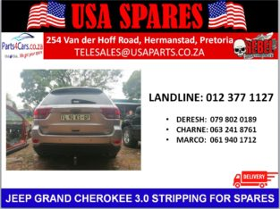 JEEP GRAND CHEROKEE 3.0 STRIPPING FOR SPARES