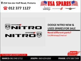 DODGE NITRO NEW & USED SPARES FOR SALE