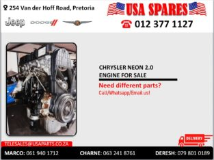 CHRYSLER NEON 2.0 ENGINE FOR SALE