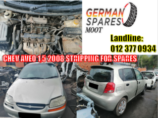 CHEV AVEO SPARE PARTS AVAILABLE
