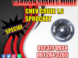 Chev Cruze 1.6 Sprocket available