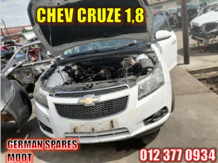 Chev Cruze 1.8 used parts available
