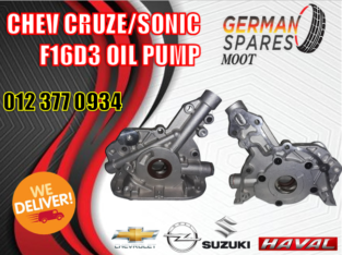CHEV CRUZE/SONIC F16D3 NEW OIL PUMP PART AVAILABLE