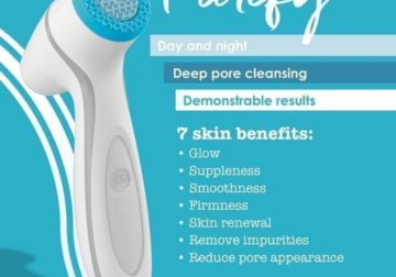 LumiSpa facial cleansing device