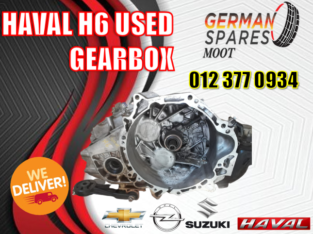 HAVAL H6 USED GEARBOX SPARE PART AVAILABLE