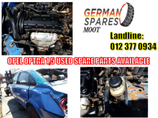 OPEL ASTRA 1.5 USED SPARE PARTS AVAILABLE