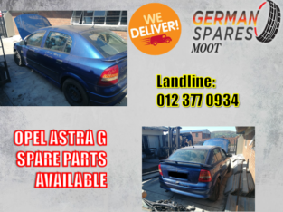Opel Astra G Spare Parts Available